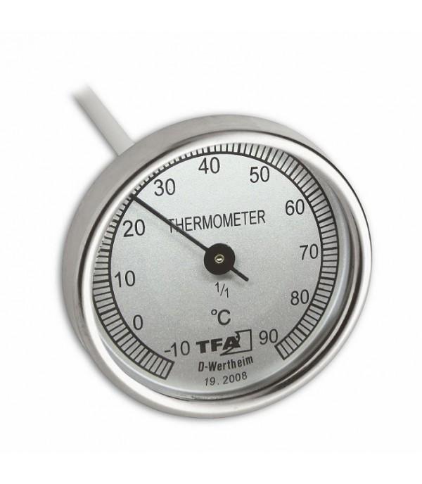 Talaj, komposzt hőmérő -10°+90°C 19.2008