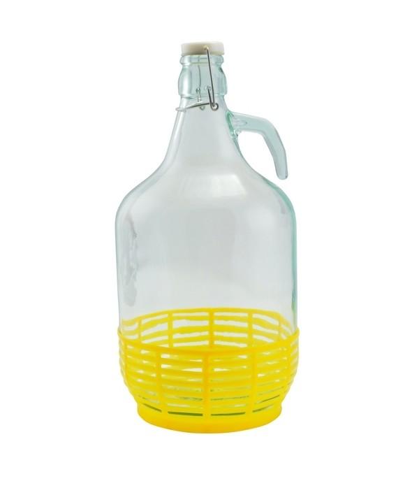 Csatos üveg 5L Dáma