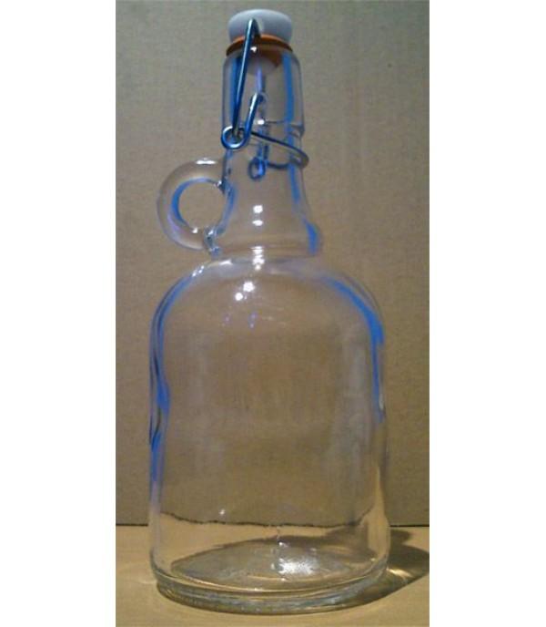 Csatos üveg Gallon 1L