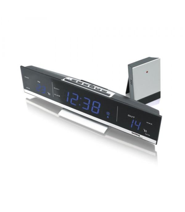 Digitális külső-belső hőmérő WS-6810 kék