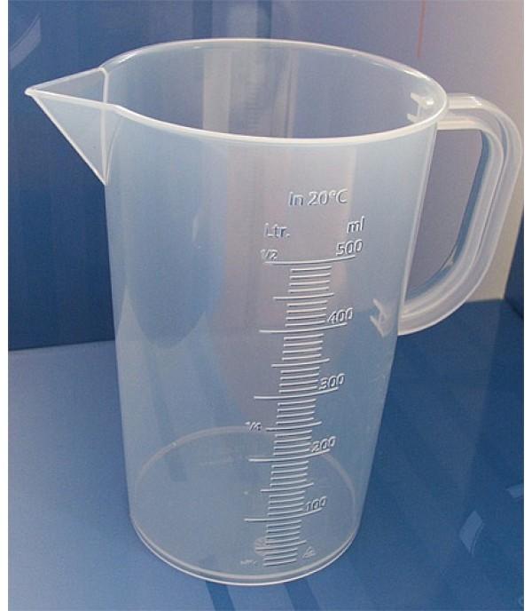 Mérőpohár PP műanyag 500ml