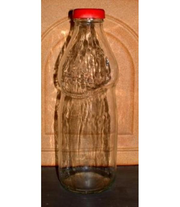 Szörpös üveg tetővel 0,5L