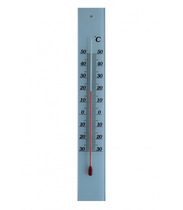 Üveghátlapos hőmérő fehér -30°...+50°C